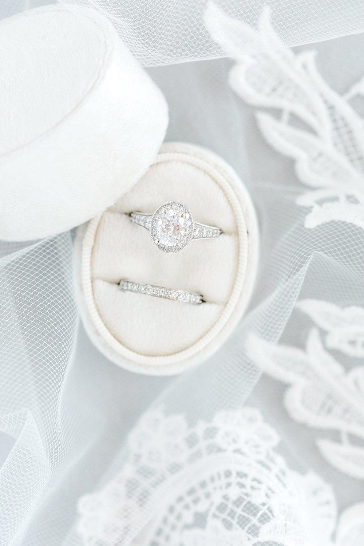 Velvet Ring Box -
