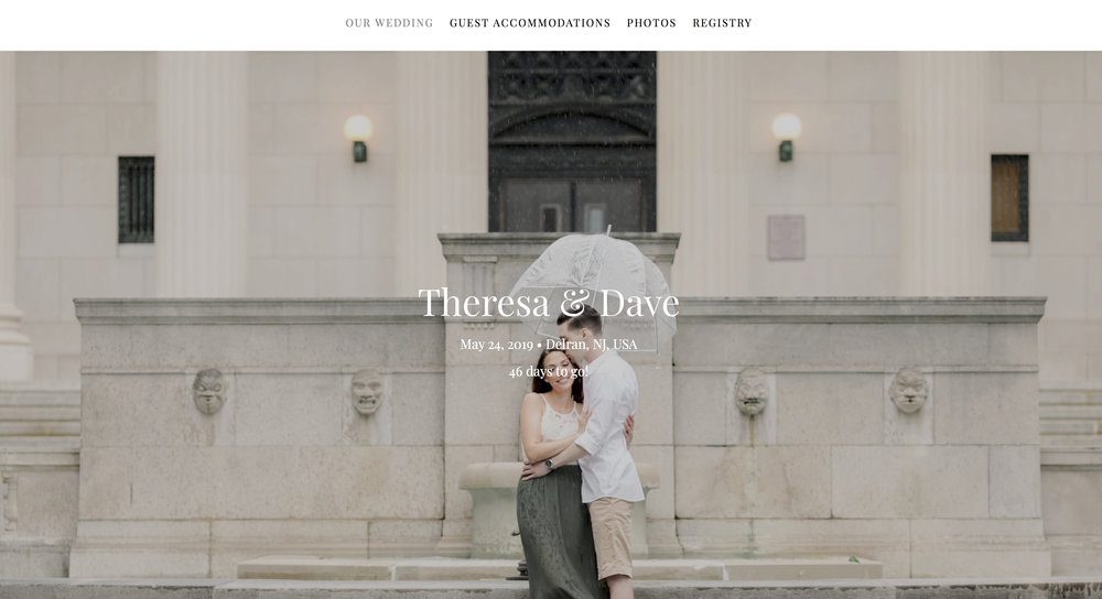 """Create a wedding website - A wedding website is a great tool for couples to communicate """"all things wedding""""to their guests! Some sites also help you plan, organize, and manage some of the tasks on your Wedding To-Do list."""