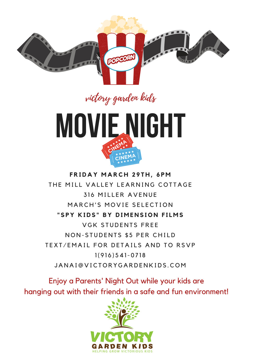 movie night-march