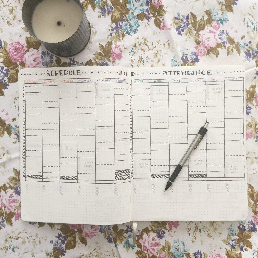 How We Schedule Schooling Year-Round | www.amblefield.com