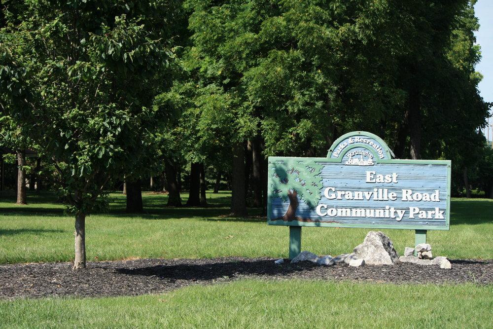 E Granville, Park Sign.JPG