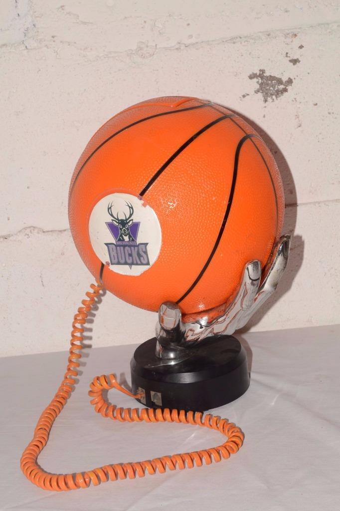Vtg 90s NBA BASKETBALL Telephone MILWAUKEE BUCKS, $29.95 eBay