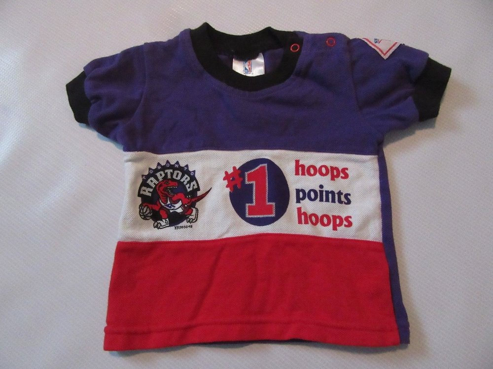 Vintage Toronto Raptors Baby Toddler Top Shirt sz 6-9 Months, $9.99 eBay