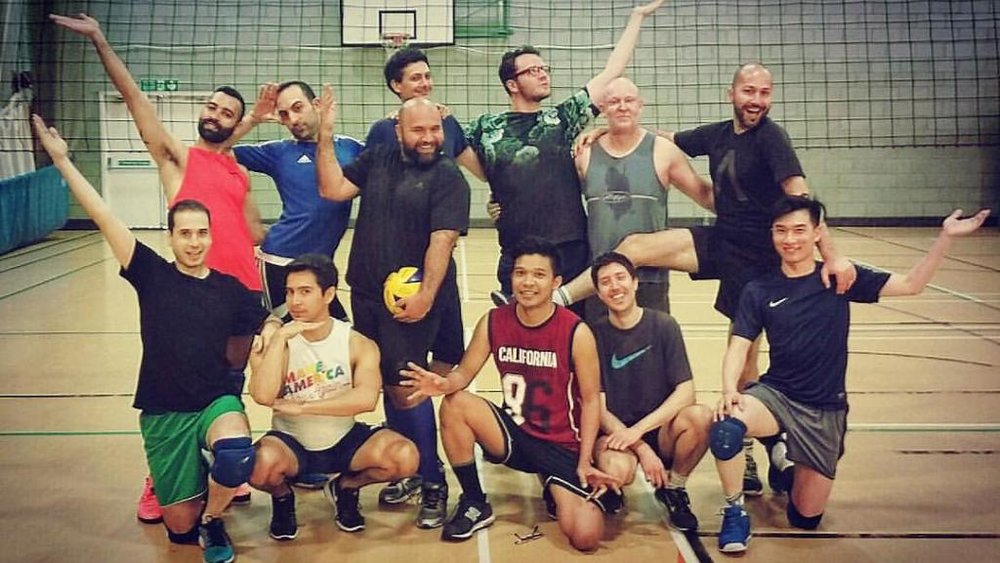 London Spikers Knights Volleyball Team (Photograph: London Spikers Knights)
