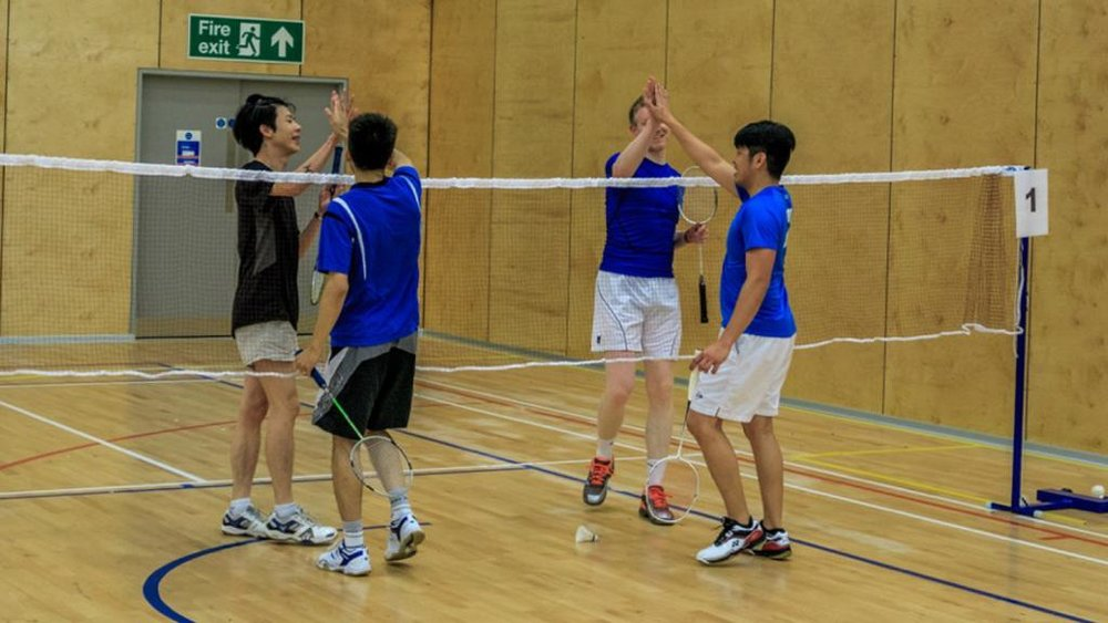 LYC Badminton Players (Photograph: LYC Badminton)