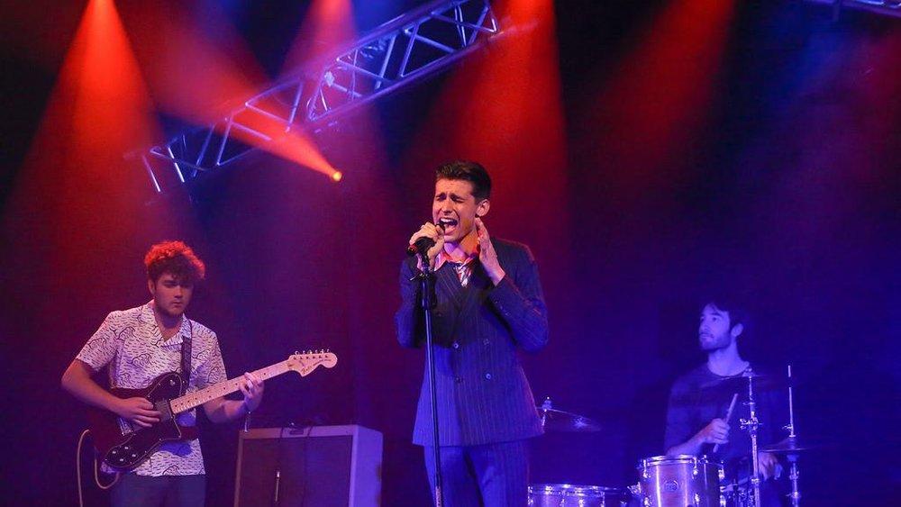 Toby Corton - Pride's Got Talent 2017 Music Winner. (Photograph: Simon Bennett )