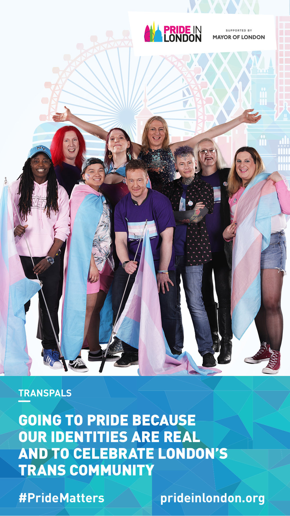 TransPALS showing why they will be taking part at Pride in London this year