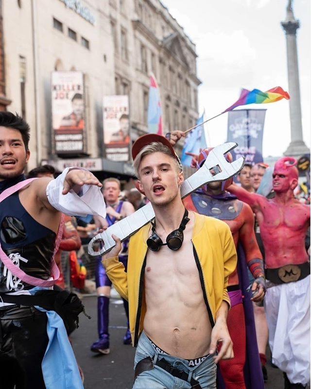 Get your parade fix! Sign-up to strut your stuff through central London this summer!  Anyone who shares our core values can take part in the parade - last year we had the biggest parade EVER with over 30,000  people in 469 groups taking part, from all parts of the LGBT+ community!  Any organisation that supports Pride's mission and agrees to our code of conduct can apply to be in the parade. Don't miss out and apply now! {link in bio}