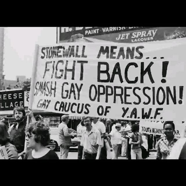 50 years ago, a night of rebellion sparked a movement. This year we roll out the rainbow carpet and raise the flag for the #PrideJubilee!  What are the landmark moments from the last 50 years that have made our movement what it is today? Share with us now - link in our bio.