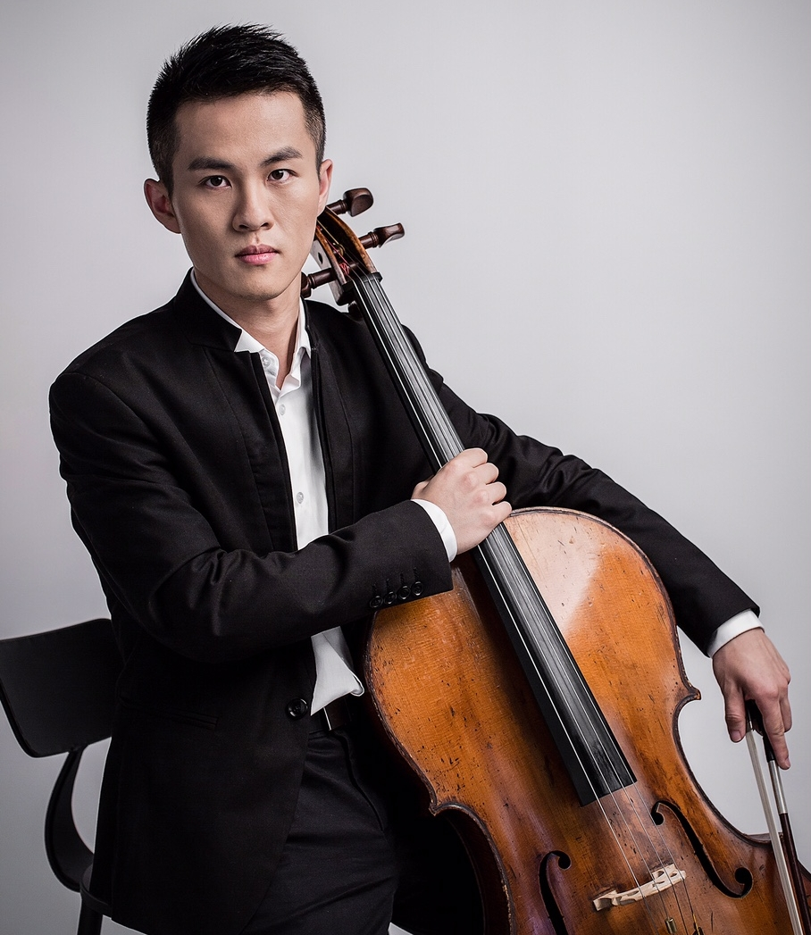 Yijia Fang, cello - Born in Shantou, China, Yijia Fang began his cello studies with his father, principal cellist with the Shantou Philharmonic Orchestra. After receiving his BM Degree at the Guangzhou Xinghai Conservatory of Music, he continued his studies at the University of Cincinnati College-Conservatory of Music with Dr. William Grubb for his Artist Diploma and Master of Music Degrees. In 2014, Yijia won first prize at the Hong Kong International String Competition and received the Excellent Performance Award at the Beijing Aiqin International Cello Competition. In 2016, Yijia premiered the cello version of the Butterfly Lovers' Violin Concerto with maestro Mark Gibson and the CCM Philharmonia.Yijia's cello was made in 1870, and was donated by Mrs. Robinson. He is currently pursuing his Doctor of Musical Arts degree in Cincinnati.