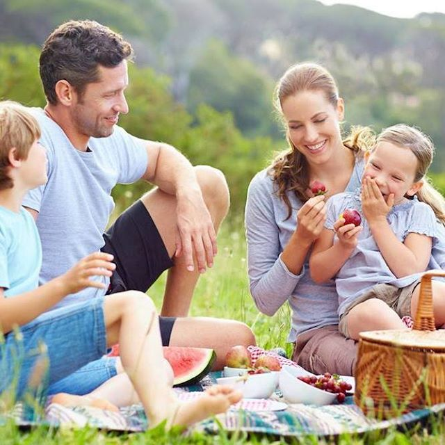 Soaking up the sun over a family picnic is a great energy-free way of enjoying summer! #EnergyClubNZ