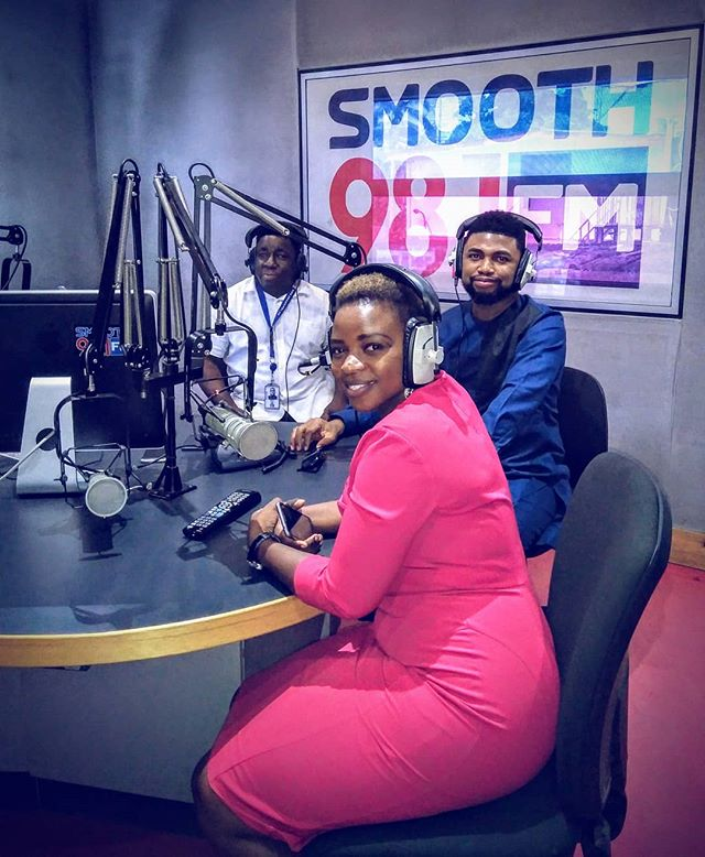 Live at @smooth981 with @smoothgenie on the Sunday brunch with Womp Record Artist @saxgoldofficial  Tune in.  #wompexpression #air