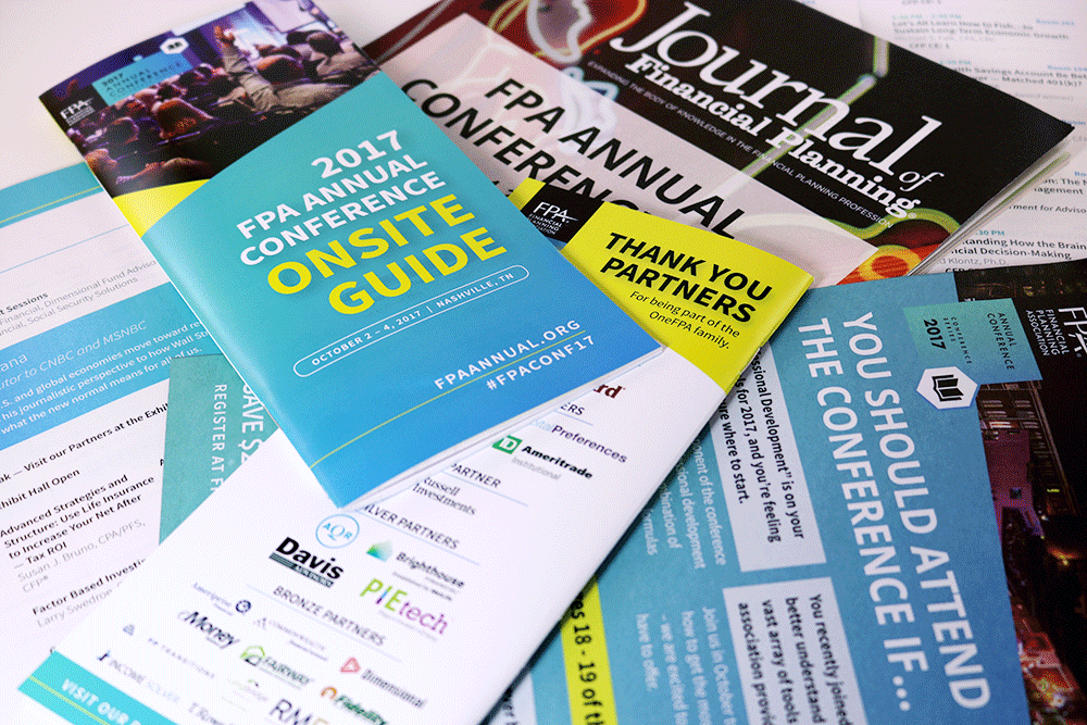 2017 FPA Annual Conference Print Materials
