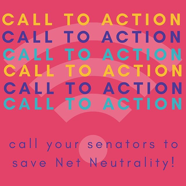 This Wednesday, the United States Senate is expected to vote on whether to reinstate the rules that protect the free and open internet. Thousands of you have already told your senators what net neutrality means to your businesses. Congress needs to hear more from Etsy sellers like you — even if you've already reached out, it's worth doing it again. So we've made it easy to contact your senators by phone. Click link in bio for more info. #NetNeutrality