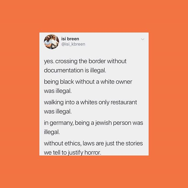 They've really been fuckin' with us for too damn long!!! Right here on stolen land!! And let's not forget they're asking for asylum. #RP @undocumedia