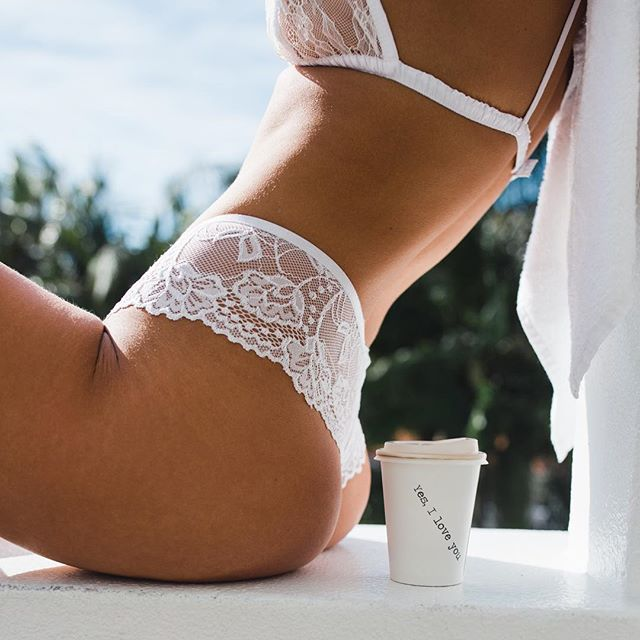 The Zara Bralette & Savannah Undie💕 Endlessloveintimates.com #intimates #lingerie #coffee #goodmorning #model #photography #byronbay #lace #picoftheday #love #endlesslove