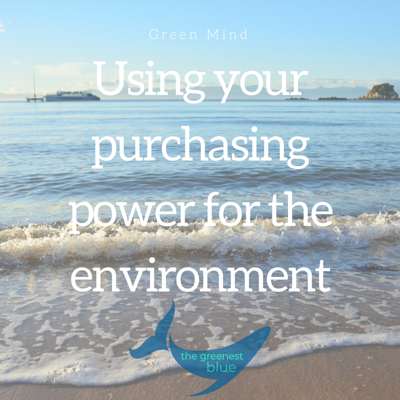 The Greenest Blue Environmentalist Purchasing Power