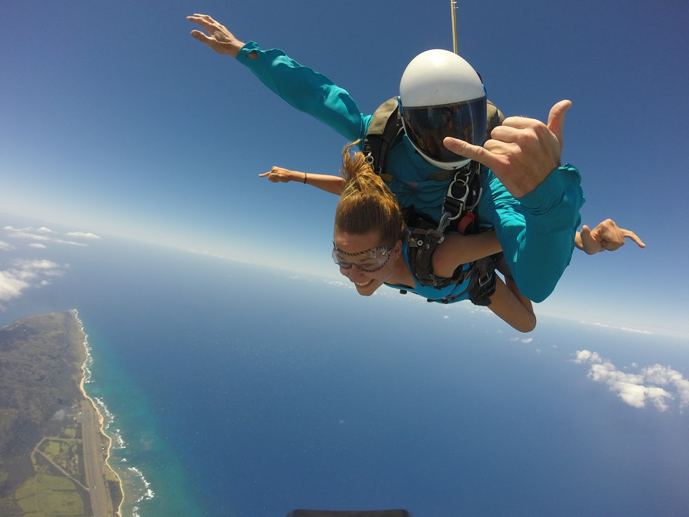 Skydiving Hawaii