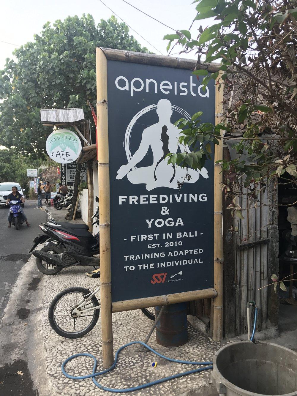 Apneista Freediving Bali