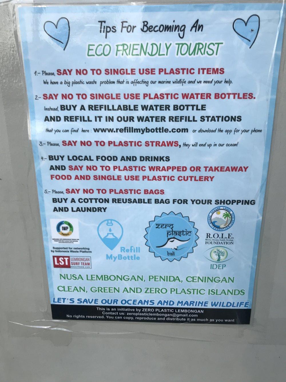 Zero-Waste Nusa Lembongan