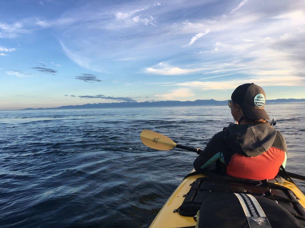Kayaking in the San Juan Islands