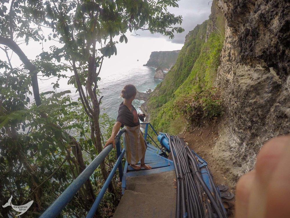 Bali Go Pro Shot