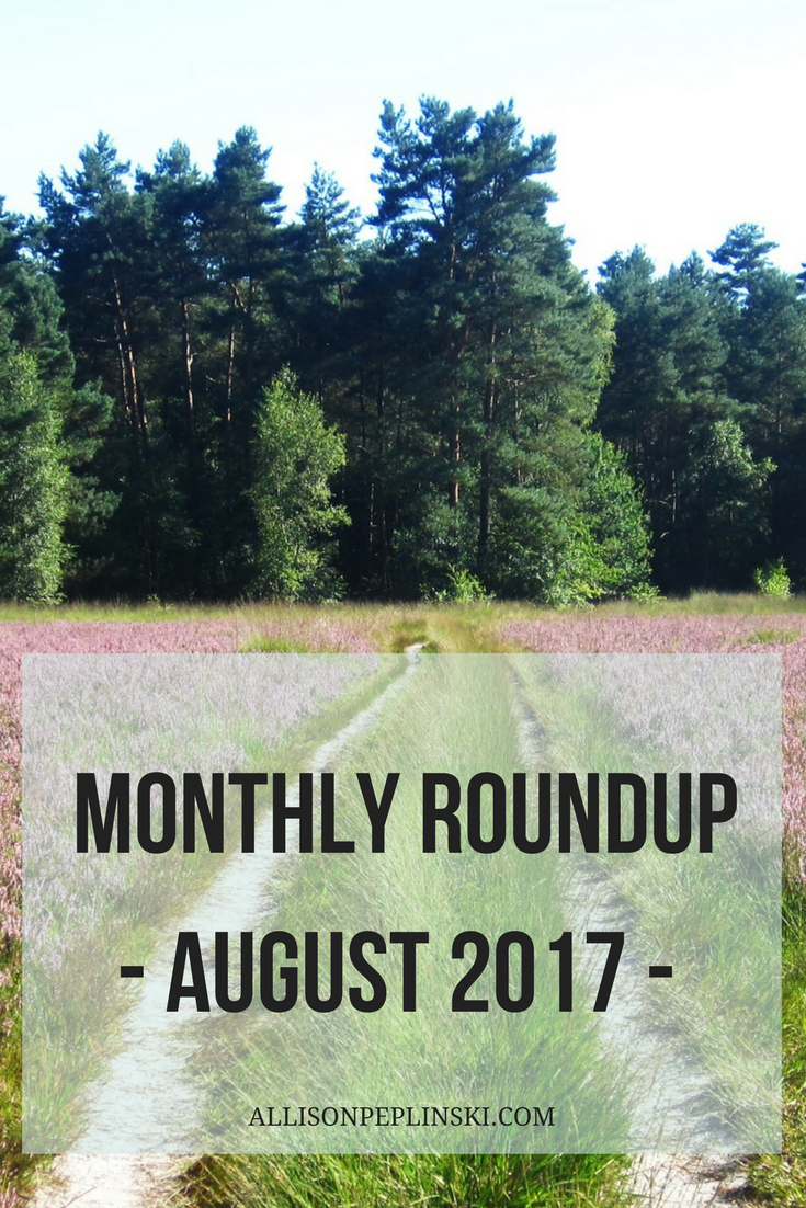 August Monthly Favorites
