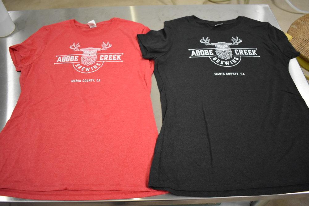 08fa8237 ACB_womenstshirt_redandblack.JPG. Women's T-Shirt