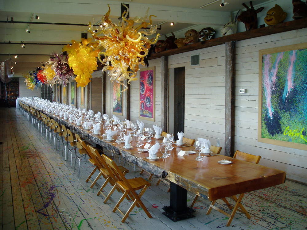 Chihuly's Boathouse Event Space