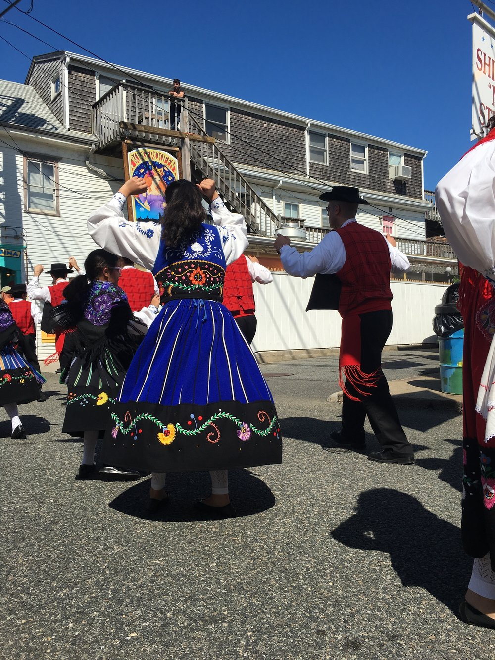 portuguese parade; provincetown; bri rinehart