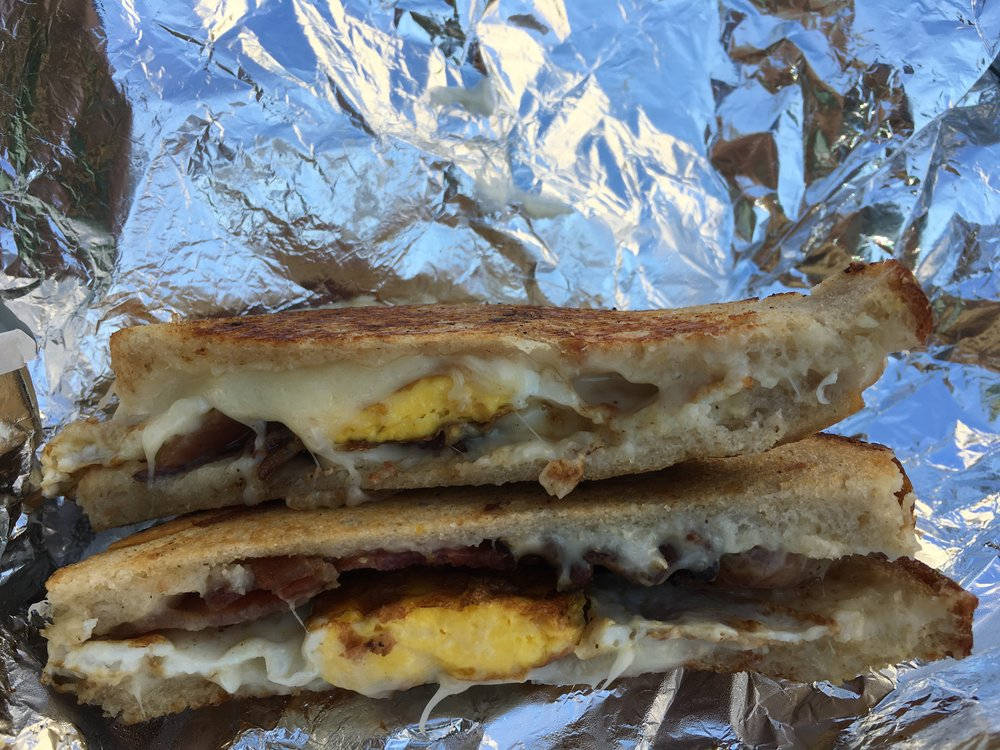 mike and patty's; breakfast grilled crack; bri rinehart