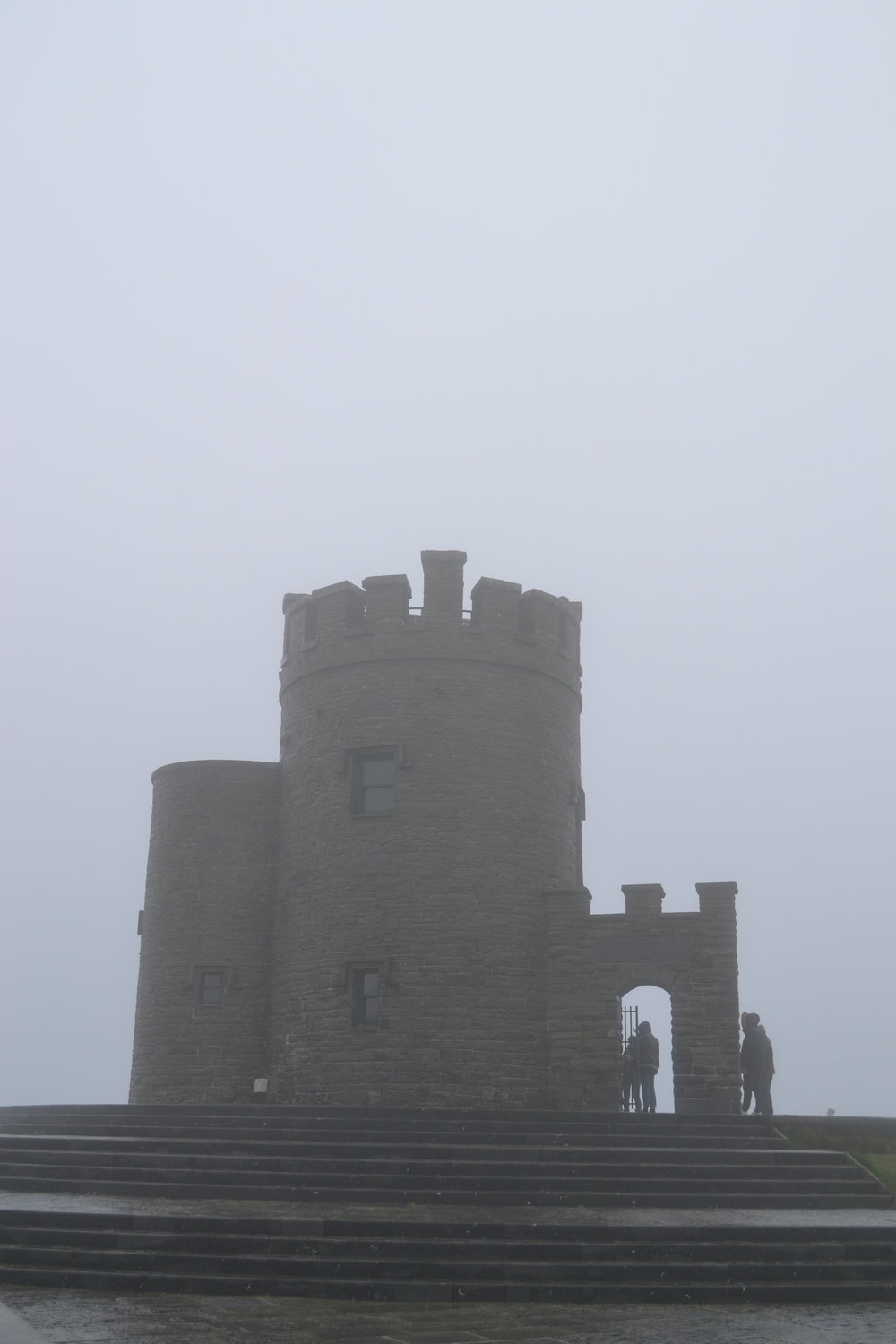 cliffs of moher; ireland; o'brien's tower; bri rinehart