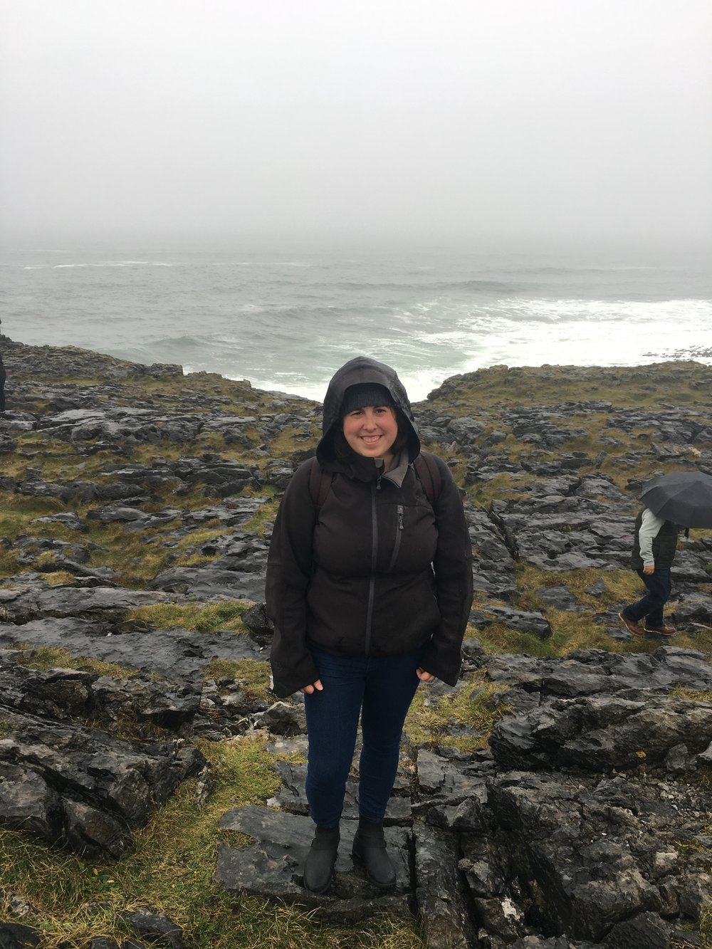 bri rinehart; the burren; ireland