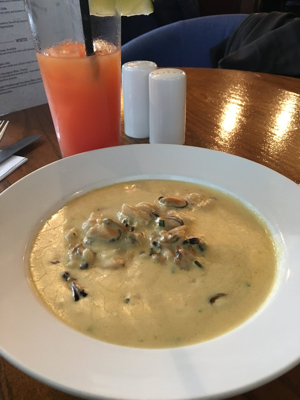 seafood chowder; belfast; bri rinehart; ireland