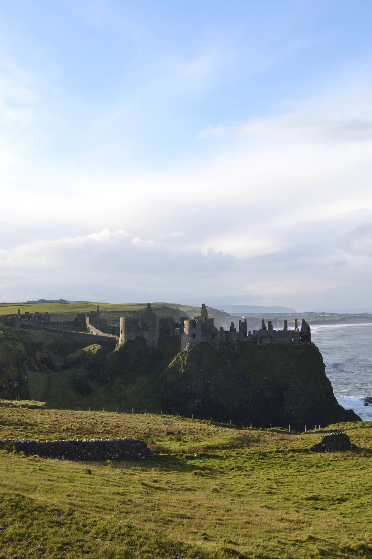dunluce castle; ireland; bri rinehart