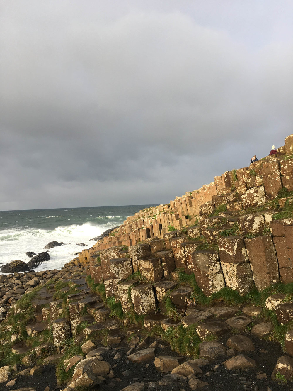 giant's causeway; bri rinehart; ireland