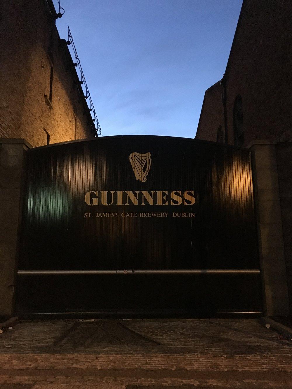 guinness; bri rinehart; dublin; ireland