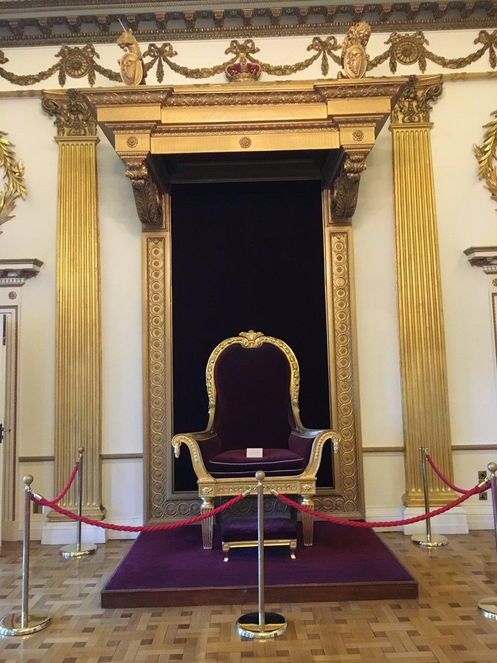 dublin castle; throne; bri rinehart; dublin; ireland