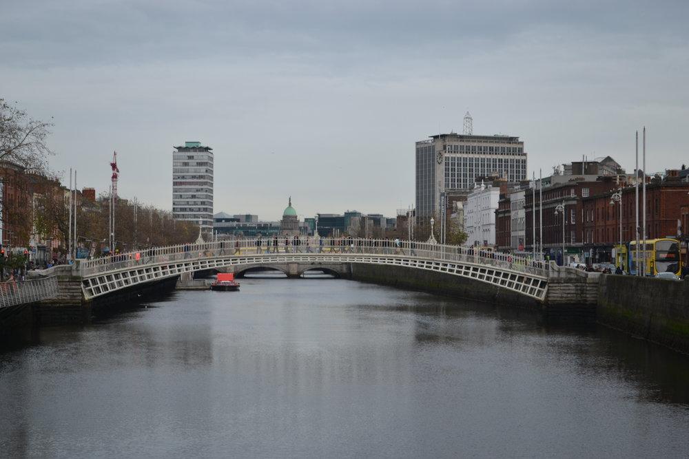 bri rinehart; dublin; ireland; ha'penny bridge