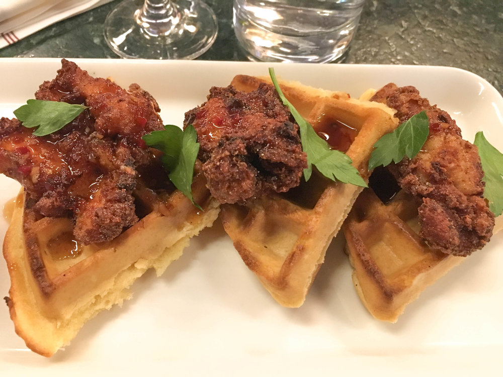earls kitchen and bar; bri rinehart; chicken and waffles