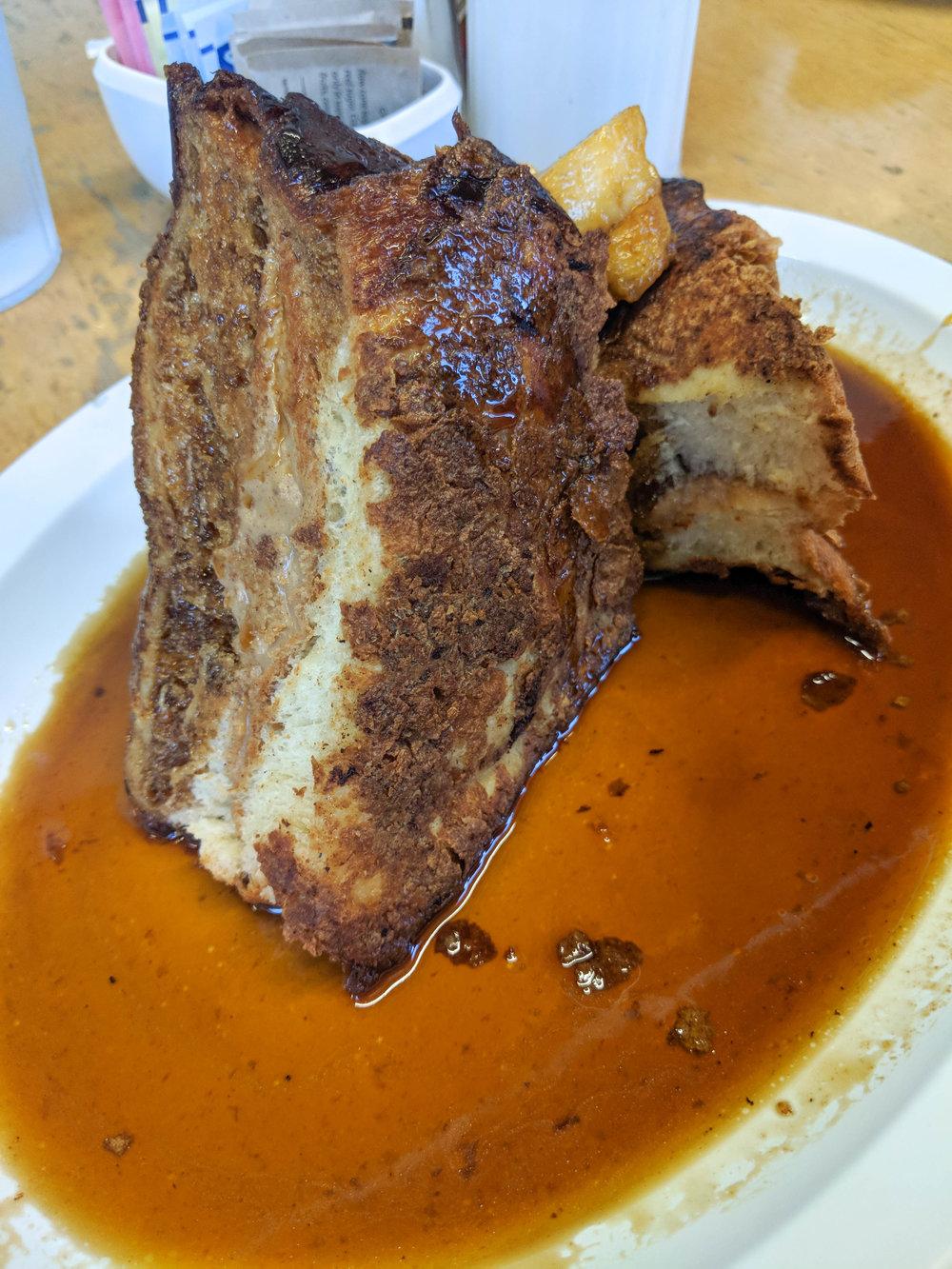 bri rinehart; atlanta; highland bakery; peanut butter french toast