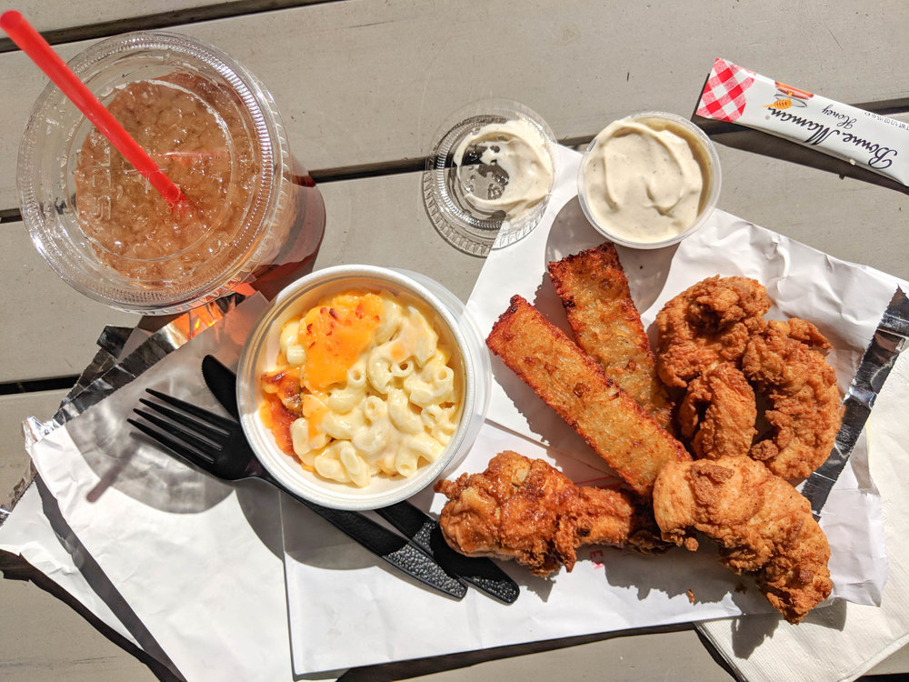 hop's chicken; bri rinehart; atlanta