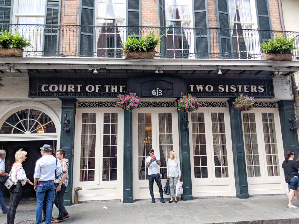 court of two sisters; bri rinehart; new orleans; nola