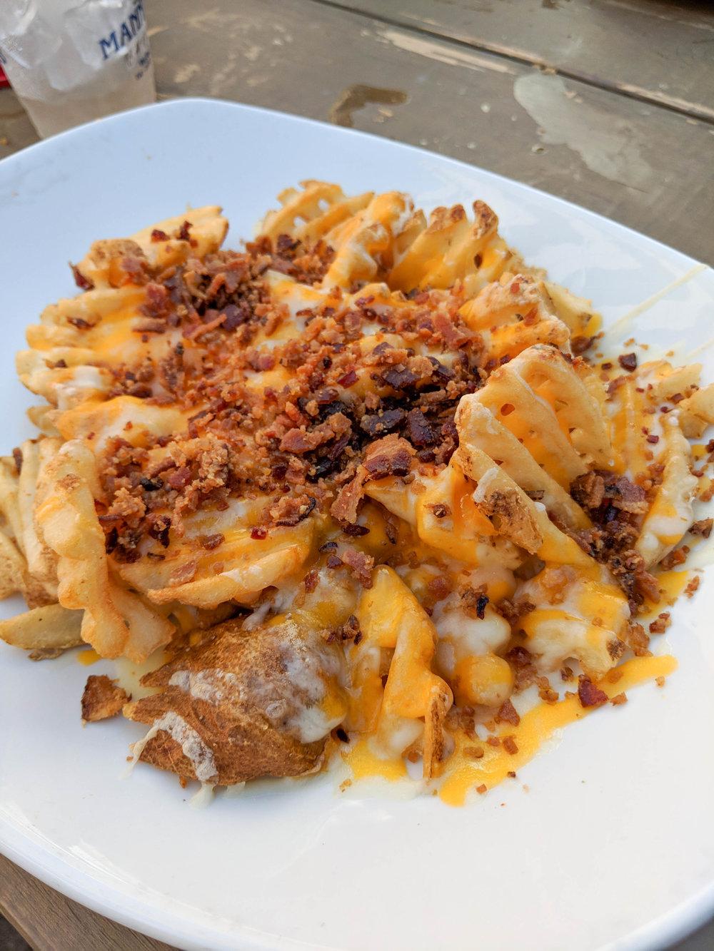 cheese fries; manning; food; bri rinehart