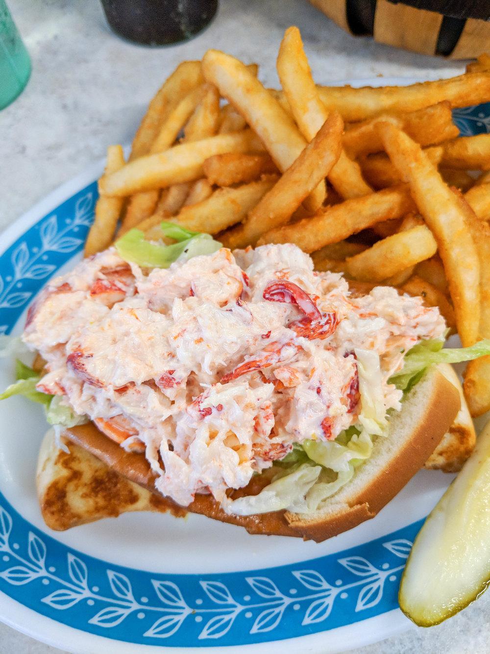 bri rinehart; lobster roll; angie's diner
