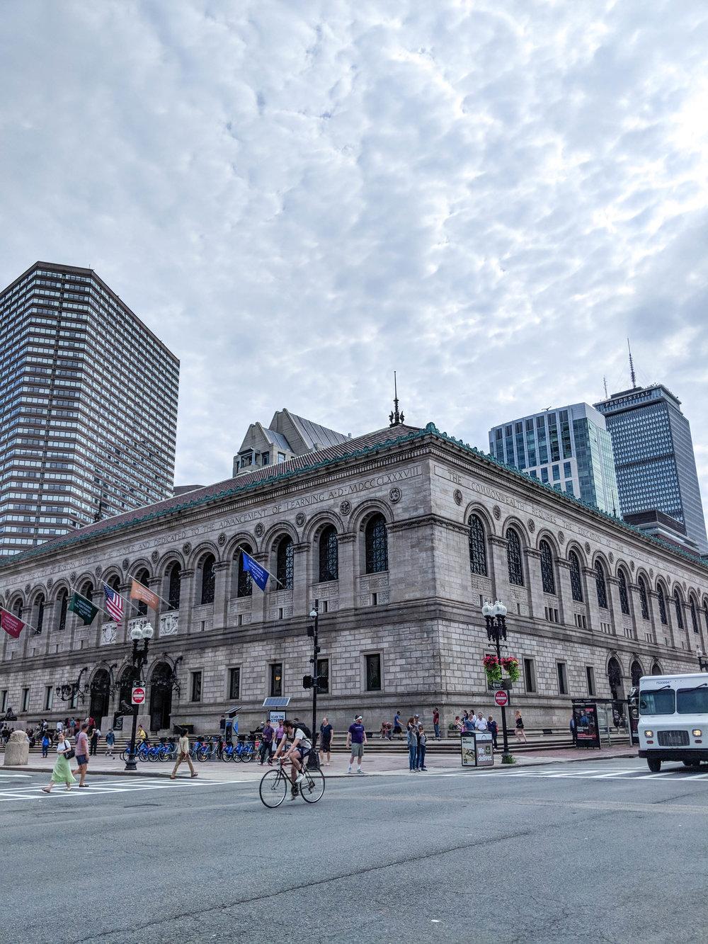 bri rinehart; photography; boston public library