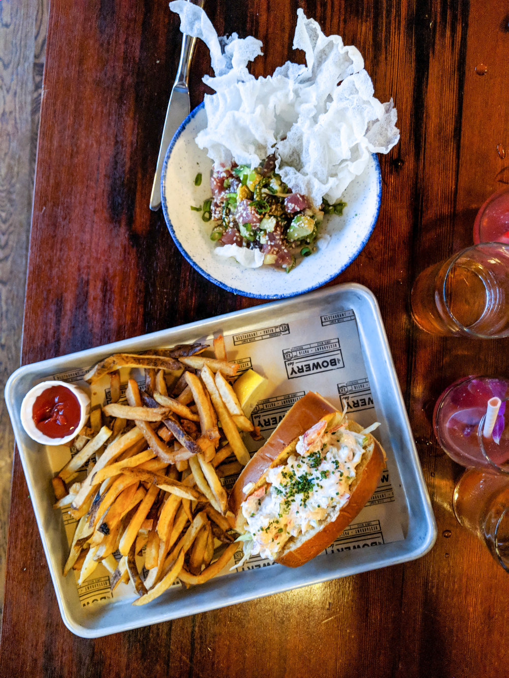 bri rinehart; photography; food; the bowery