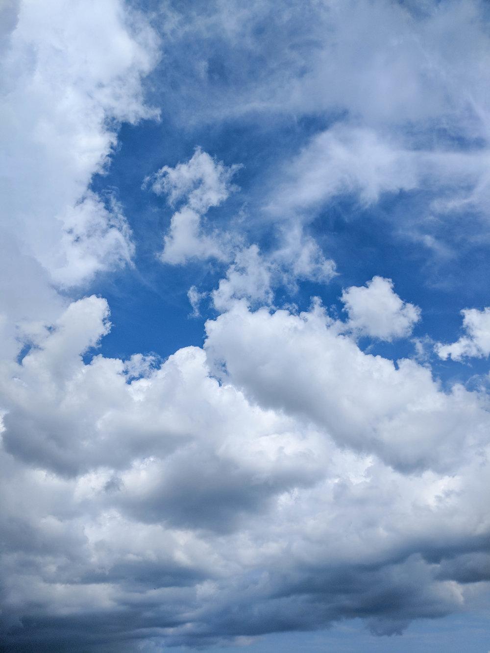 bri rinehart; photography; clouds
