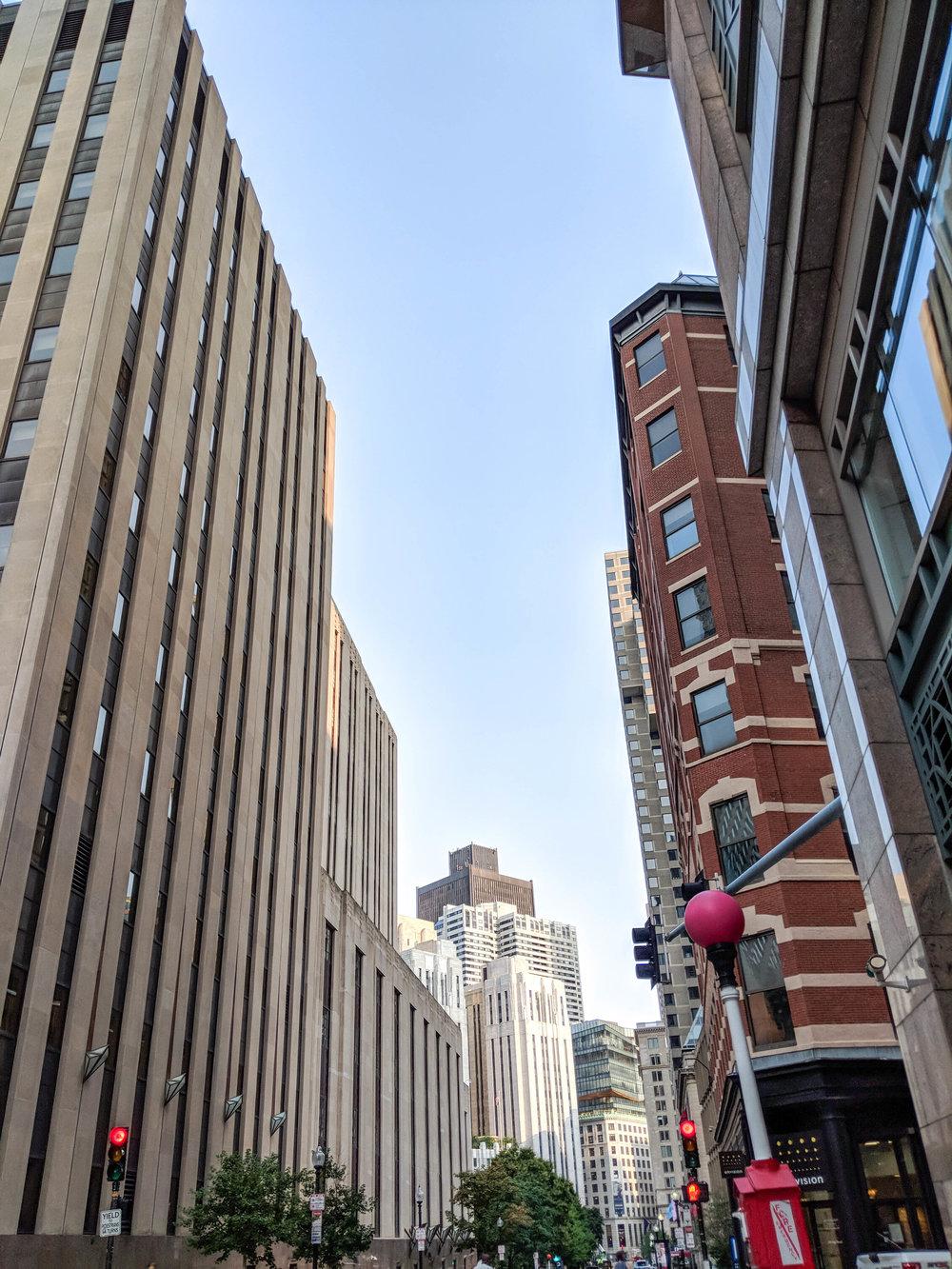 bri rinehart; photography; boston; financial district
