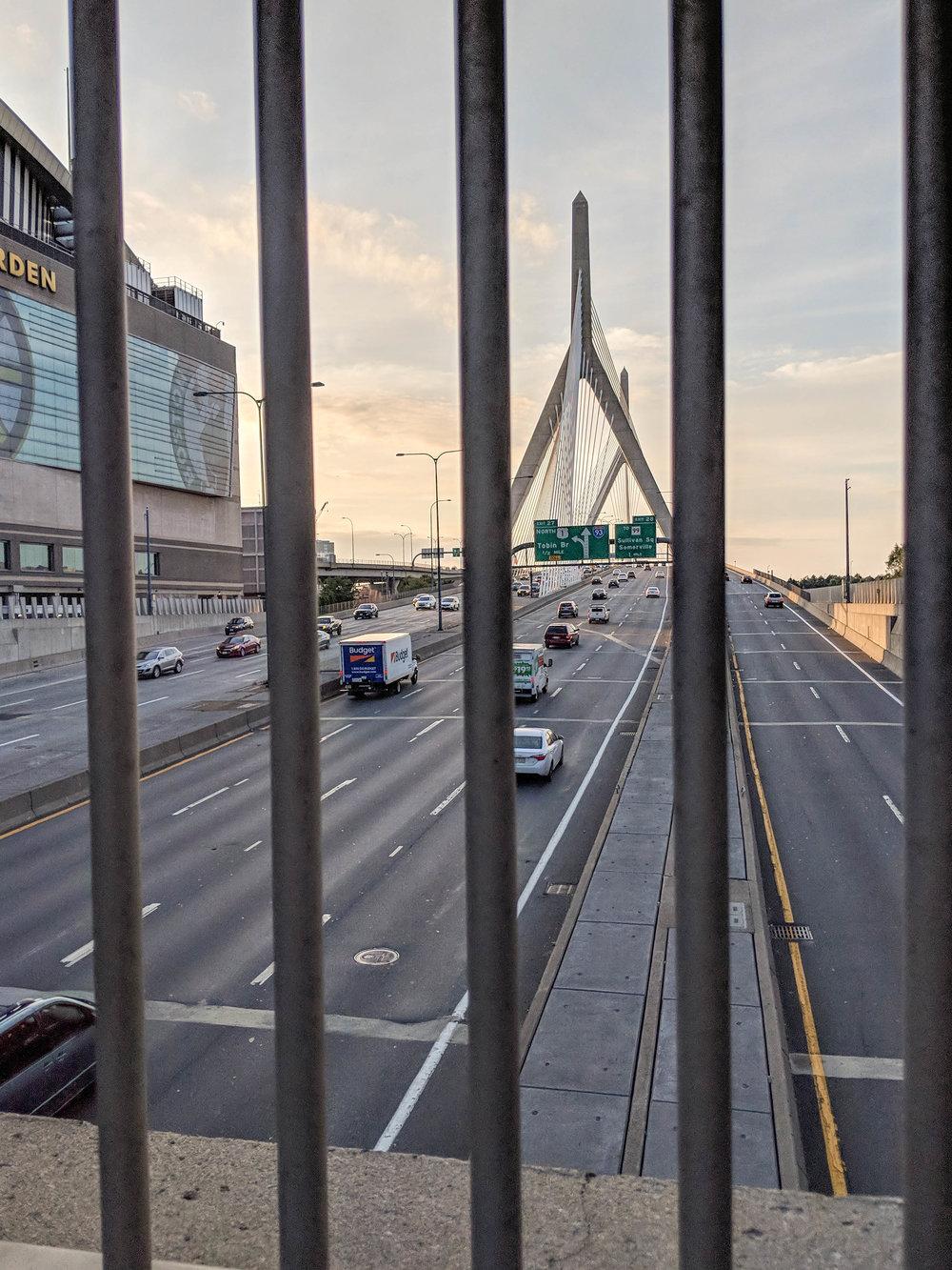 bri rinehart; photography; zakim bridge; boston